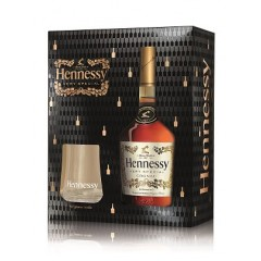 Hennessy V.S. в кутия  с 2 чаши