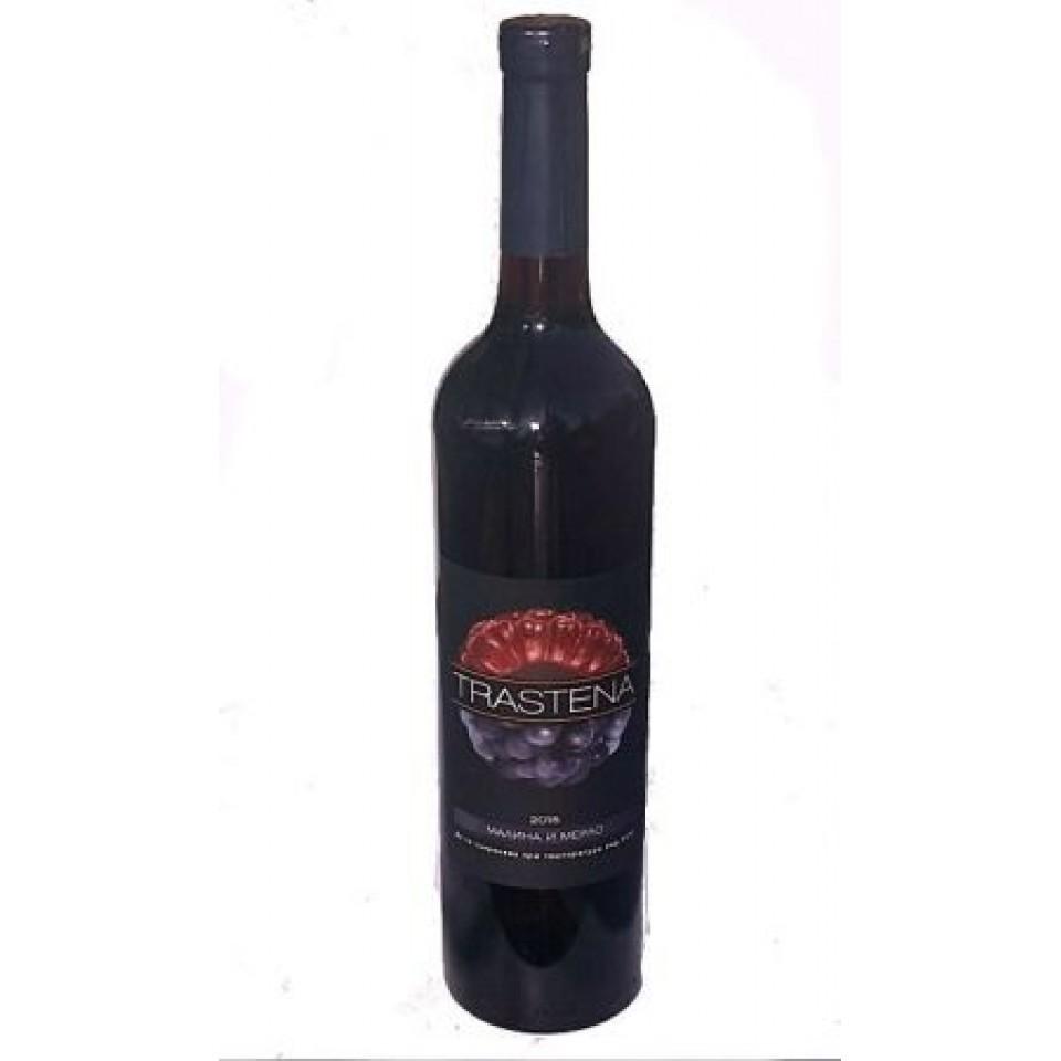 Трастена Малина и Мерло - Малиново вино