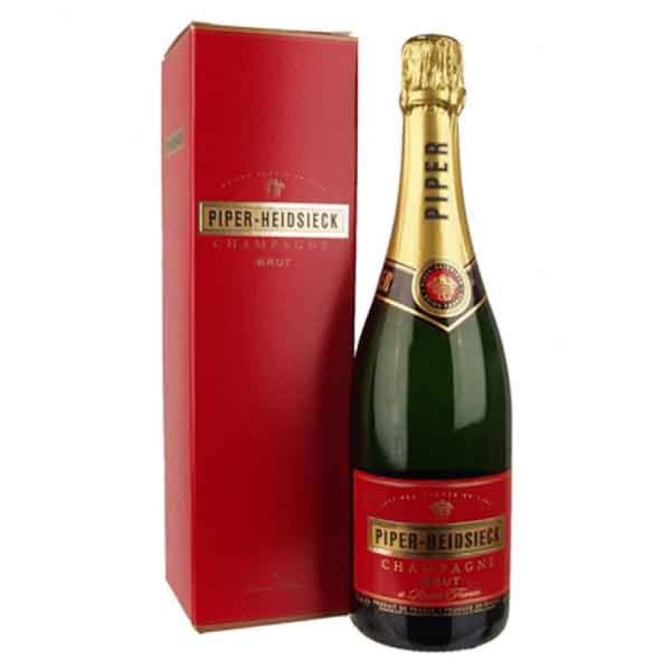 Шампанско Пайпър-Хайдсик Брут с Кутия