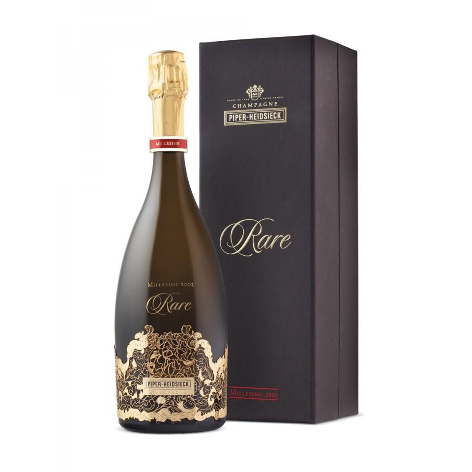 Шампанско Пайпър-Хайдсик Реар Винтидж 2002 с Кутия