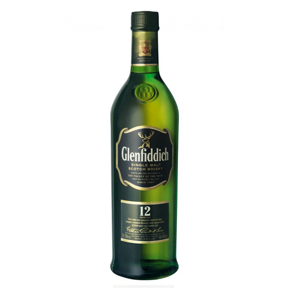 "Уиски ""Glenfiddich Single Malt"" 12 год."