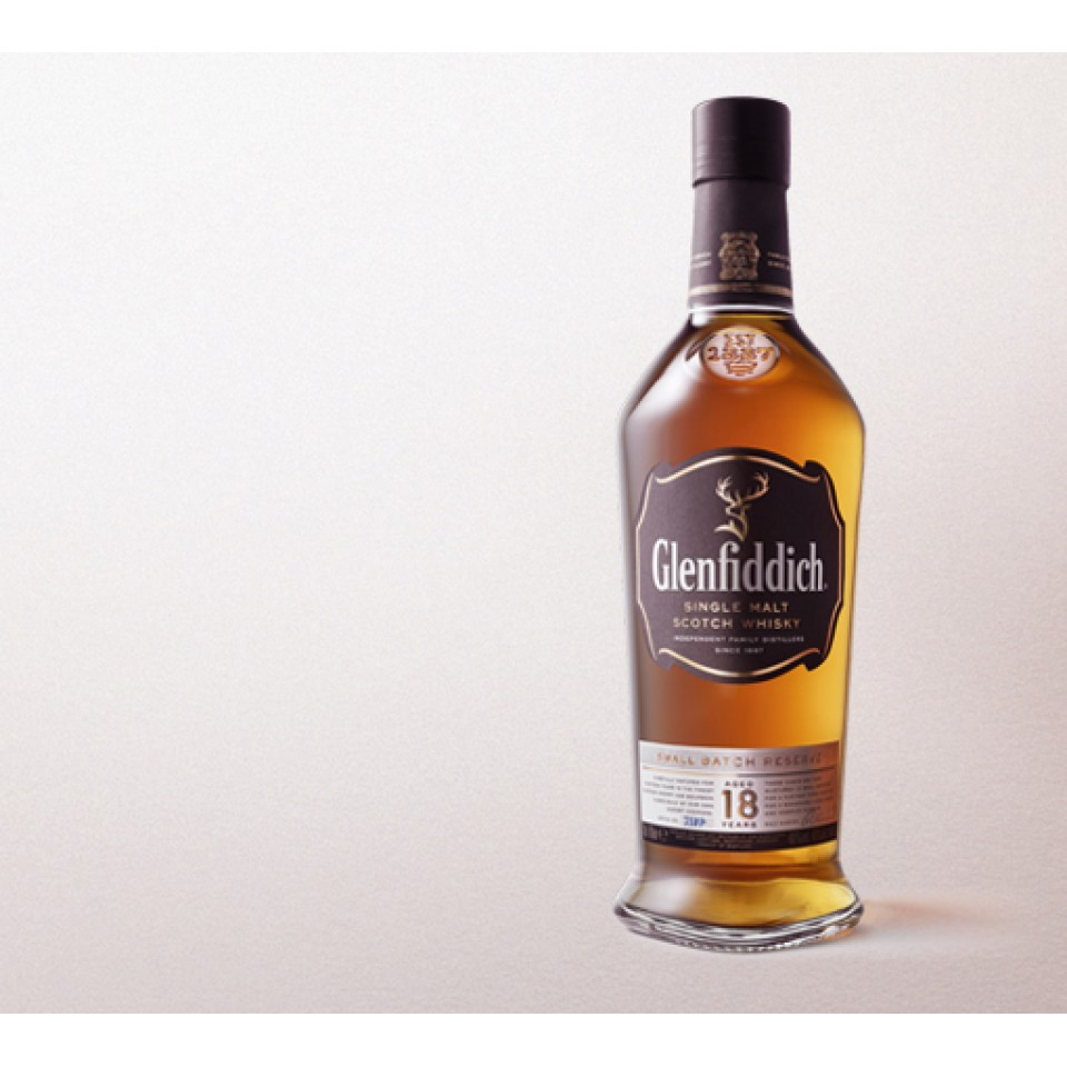 "Уиски ""Glenfiddich Single Malt"" 18 год."