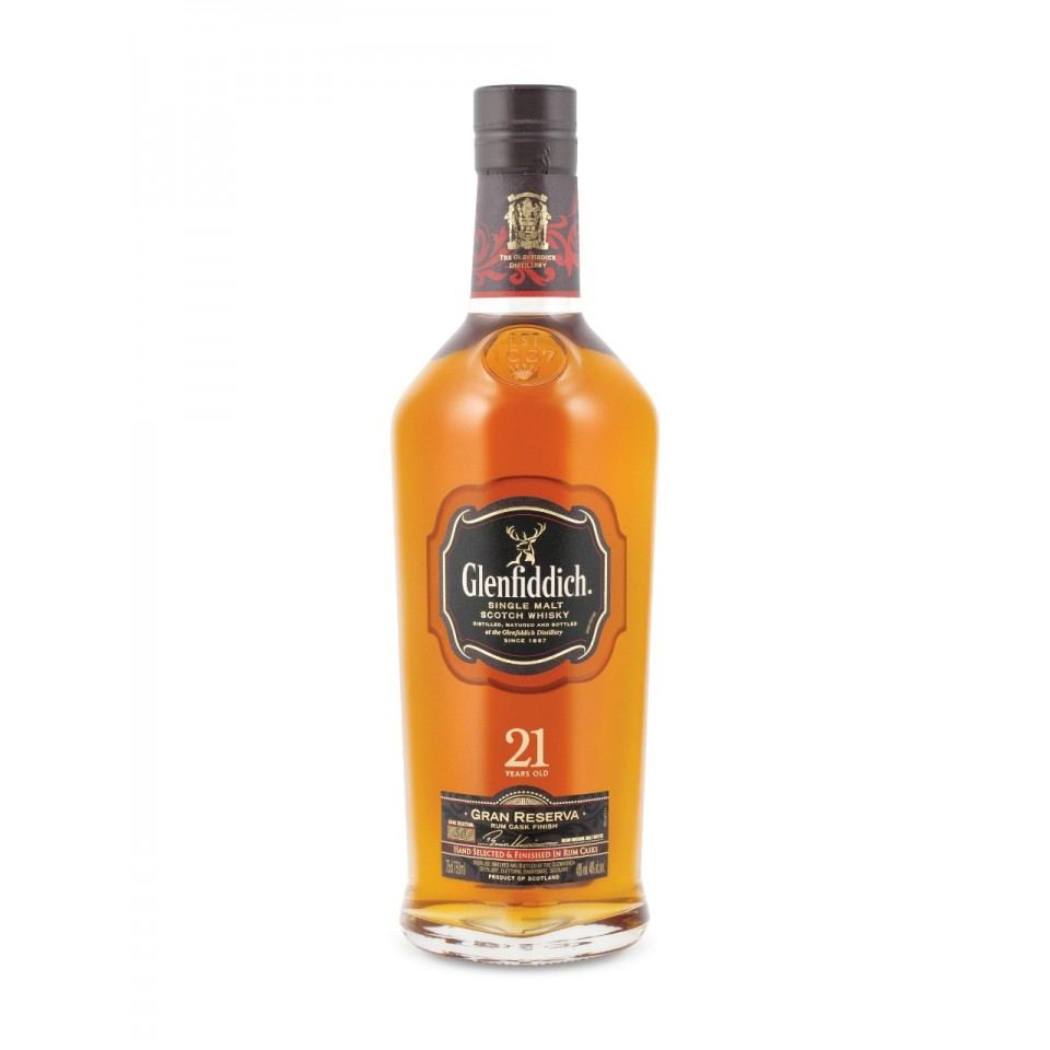 "Уиски ""Glenfiddich Single Malt"" 21 год."