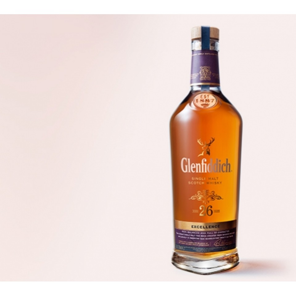 "Уиски ""Glenfiddich Single Malt"" 26 год."